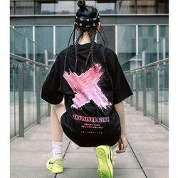 áo nữ in chữ X siêu to giá sỉ