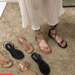 Giay sandal cột dây cá tính giá sỉ
