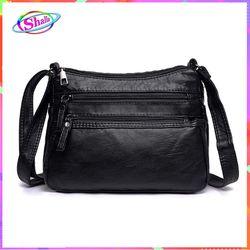 Túi đeo vai da cổ điển kiểu trơn thời trang hàn quốc Shalla SM4 giá sỉ