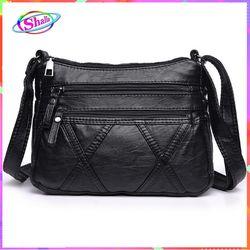 Túi đeo chéo vai da cổ điển kiểu chữ X thời trang dạo phố Shalla S60 giá sỉ