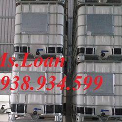 Tank nhựa ibc 1000 lít mới giá rẻ giá sỉ