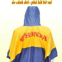 Áo mưa logo Honda giá sỉ giá sỉ