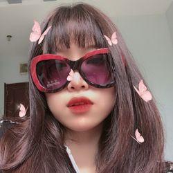 Mắt kính đỏ - đen trang nhã chống tia UV cao cấp giá sỉ
