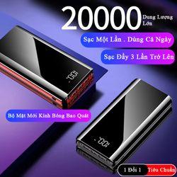 Pin sạc dự phòng K29 20000mah giá sỉ