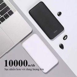 Pin sạc dự phòng Cát Thái 10000mAh WK-102C giá sỉ