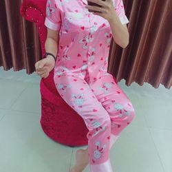Đồ bộ Phi Lụa Satin mặc nhà giá sỉ