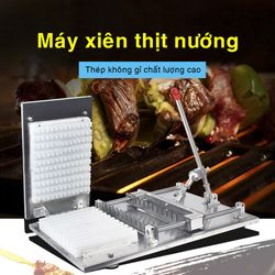 Máy xiên thịt tự động 0399597323 dfg48 giá sỉ