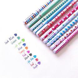Set 10 bút nước 10 màu mực siêu dễ thương có hộp đựng giá sỉ