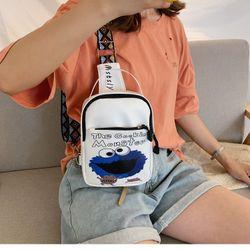 Túi đeo chéo - túi bao tử hoạt hình ELMO cá tính dễ thương giá sỉ