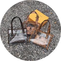 Bộ 2 túi trong suốt siêu đẹp giá sỉ