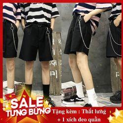 Quần short kaki tặng kèm xích quần và thắt lưng giá sỉ