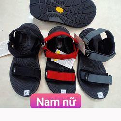 Giày sandal nam SS043 quai vải dù 1 dây ngang điều chỉnh dễ dàng giá sỉ