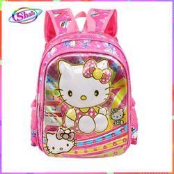 Balo cho trẻ em đi học hellokyti hồng dễ thương Shalla Sh5 giá sỉ