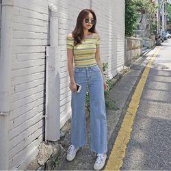 Quần jeans ống rộng giá sỉ