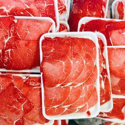 Thịt đùi gọ bò ÚC cao cấp thái mỏng - Brand: KILCOY - 20kg/thùng giá sỉ
