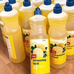 Nước rửa chén huyền thoại của Coles Úc