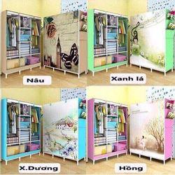 Tủ quần áo 3 buồng 8 ngăn 3D giá sỉ