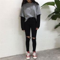 Quần Jean Đen Bigsize Co Giãn 20 Size 34-38 giá sỉ