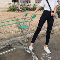 Quần Jean Đen Bigsize Co Giãn 24 Size 34-38 giá sỉ
