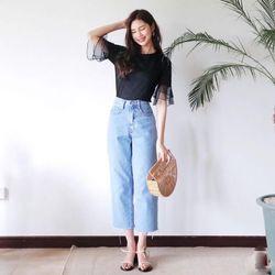 Jeans ống rộng giá sỉ