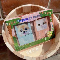 Set Son Chó Mèo Perfect Party sét 2 son kèm gương giá sỉ