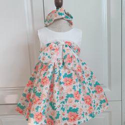 Đầm bé gái thiết kế đẹp từ form - chuẩn từ đường kim mũi chỉ giá sỉ