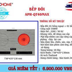 Bếp đôi APH-QT40MAX - Điện máy Thành Đạt giá sỉ