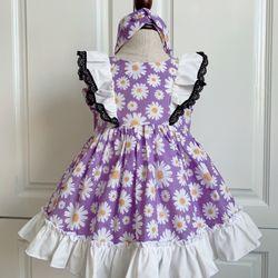 Đầm Bé gái thiết kế đủ size 6-30kg ( ri 7 size tạng kèm tủban) giá sỉ