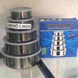 BỘ BÁT LẠNH INOX 5 CHI TIẾT giá sỉ