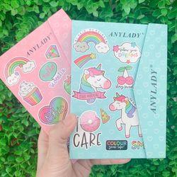 Set trang điểm Anylady Rainbow Gồm 21 phấn mắt - 3 má hồng - 3 phấn nền - 3 phấn chân mày - 3 tone son giá sỉ