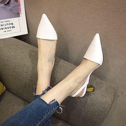 Giày cao gót gót vàng da cao cấp - CG450 giá sỉ