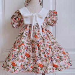 Đầm thiết kế cho bé gái hàng đẹp - chuẩn form - may kỹ chuyên đổ giá sỉ