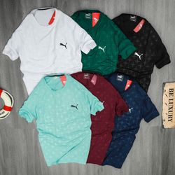 Quần áo thể thao- áo thun cao cấp Pum.a thể thao vải poly 4 chiều 100% - giá xưởng giá sỉ
