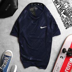 Quần áo thể thao- áo thun poly 4 chiều Ni.ke dập vân cao cấp - giá xưởng giá sỉ