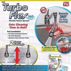 Đầu nối vòi tăng áp xoay 360 Tubo giá sỉ
