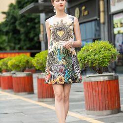 Đầm DG đính đá cao cấp hàng quảng châu giá sỉ