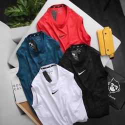 Quần áo thể thao - áo thun ba lỗ Nik.e cao cấp thể thao vải poly 4 chiều - giá xưởng giá sỉ