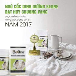 Sữa bột ngũ cốc dinh dưỡng BeOne ( Huy chương vàng Dược phẩm an toàn năm 2017 ) giá sỉ