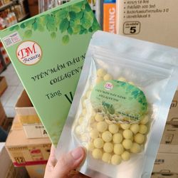 Viên mầm đậu nành + collagen giúp tăng vòng 1 và dưỡng trắng da giá sỉ