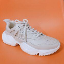Giày da dáng thể thao nam