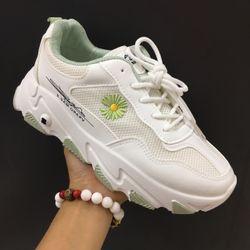 giày thể thao hoa cúc nữ giá sỉ