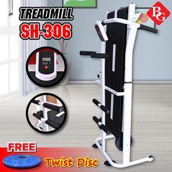Máy chạy bộ cơ đa năng mẫu mới Treadmill SH - S306 5 in 1 giá sỉ