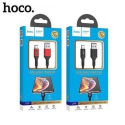 Cáp sạc nhanh tự ngắt Hoco U79 ip giá sỉ