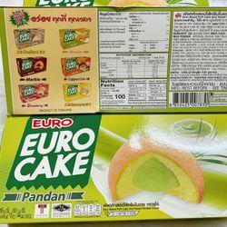 BÁNH TRỨNG EURO CAKE THÁI LAN -NHÂN LÁ DỨA giá sỉ