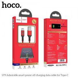 Cáp sạc nhanh tự ngắt Hoco U79 TypeC giá sỉ