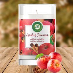 Ly nến thơm tinh dầu Air Wick Apple Cinnamon 310g XXL QT06525 - hương táo, quế giá sỉ