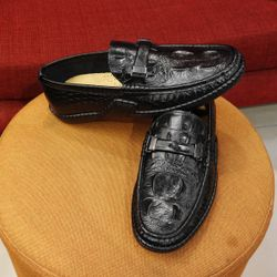 Giày da thời trang cao cấp OX044 giá sỉ