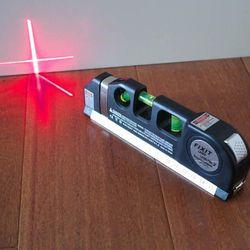 Thước thủy laser - Thước đo khoảng cách bằng laser/thước đo laser cầm tay giá rẻ - Thước Ni vô Laser 3 chức năng giá sỉ
