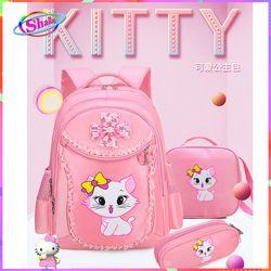 balo thời trang cho bé gái hình mèo hoa cao cấp dễ thương Shalla giá sỉ