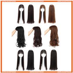 Tóc giả nguyên đầu có rãnh da đầu như tóc thật chịu nhiệt tốt